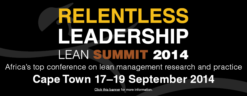 Lean Summit Africa 2014