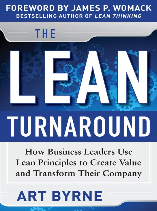 Lean Turnaround cover