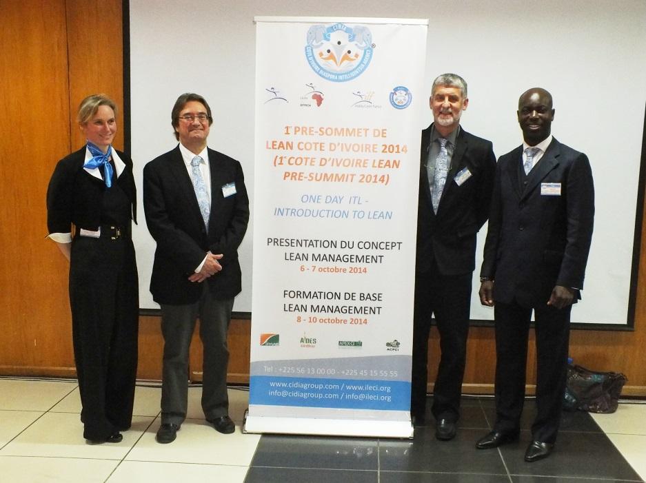 Organisers & presenters Abidjan